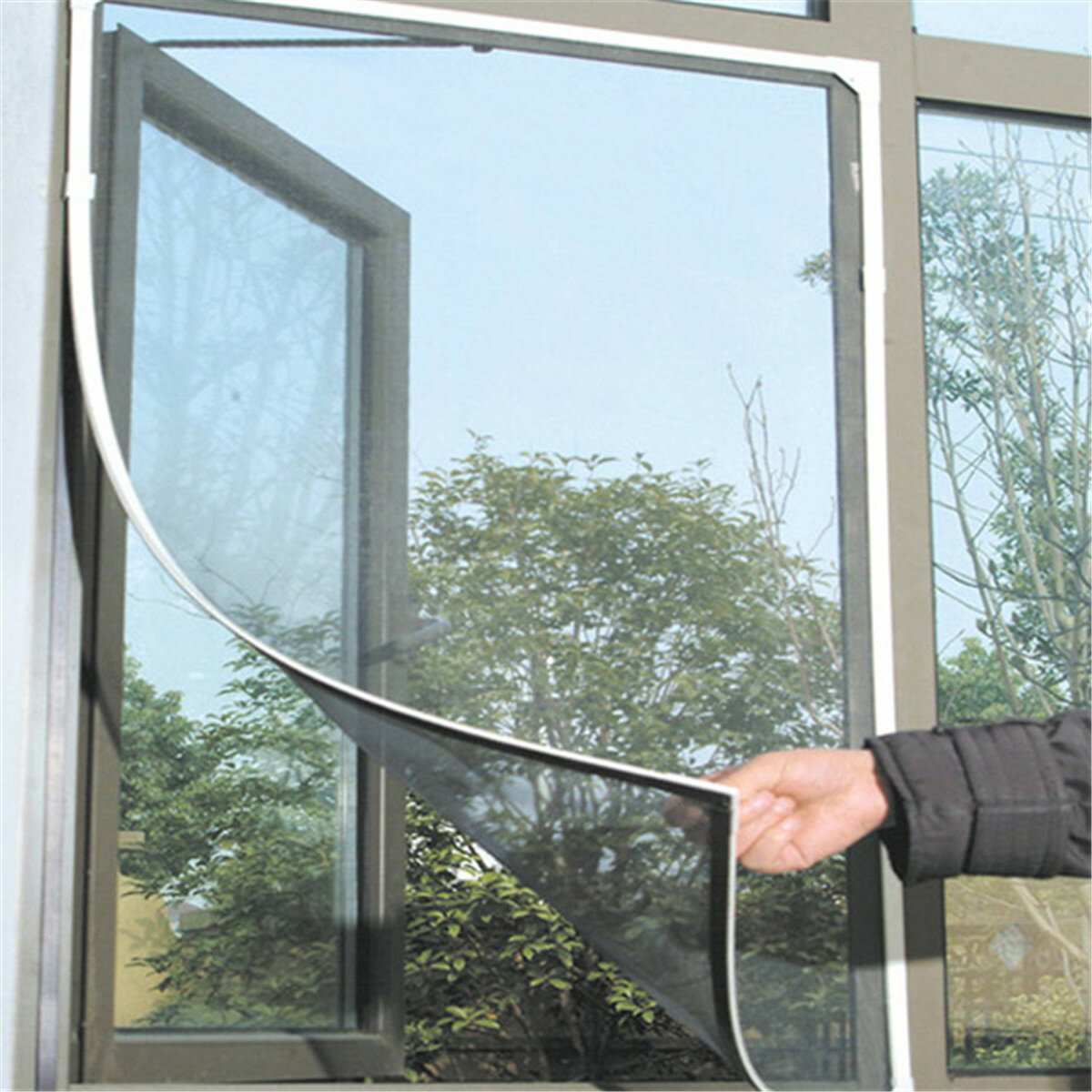 Fly Bug Insect Curtain Mesh Bug Mosquito Door Window Sticky Netting Wire Mesh Screen Protector