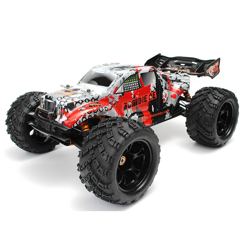 Dhk Hobby Zombie 8e 8384 1 8 100a 4wd Brushless Monster Truck Rtr Rc Car Sale Banggood Com