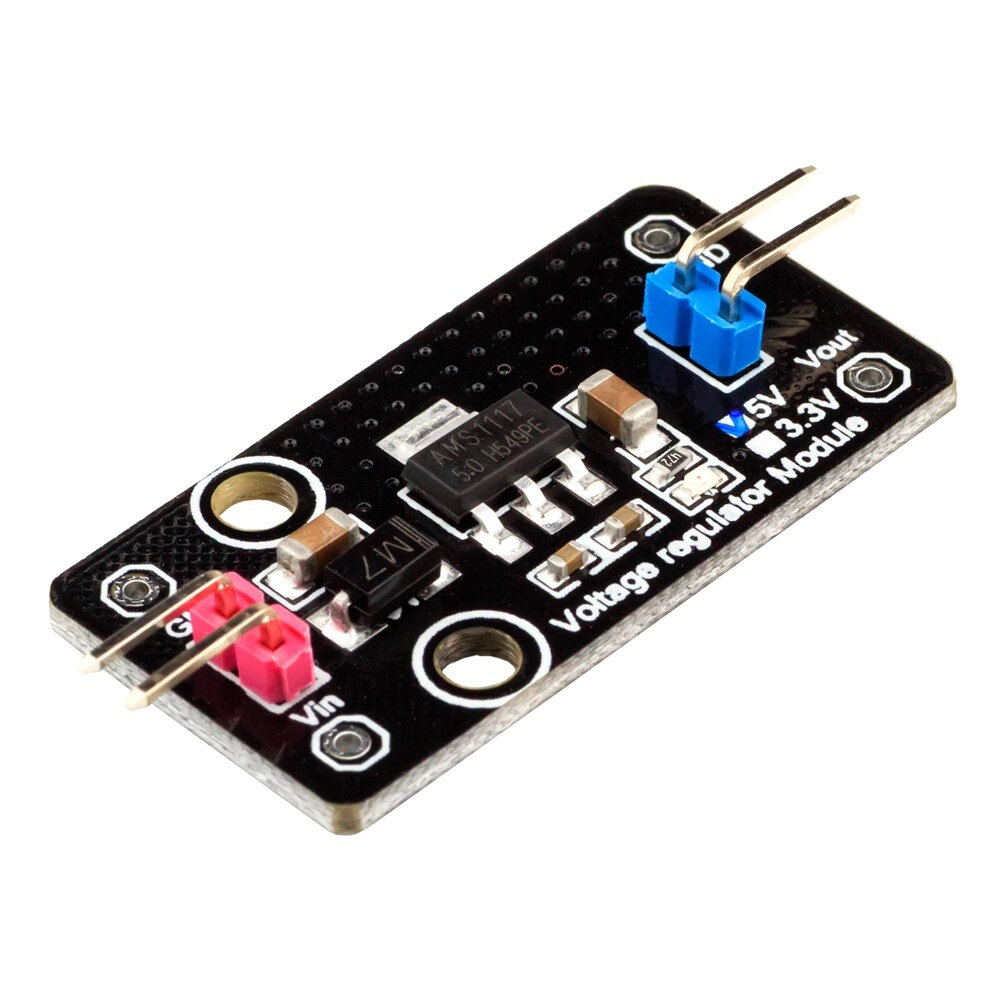 5pcs Voltage Regulator Module LDO 5V 800mA Output RobotDyn for Arduino - products that work with official for Arduino bo