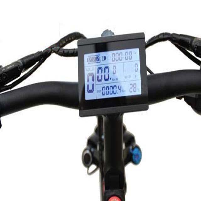 RISUNMOTOR 24V/36V/48V/60V/72V LCD3 Display Meter Control Panel For E-Bike DIY Conversion Kit Parts