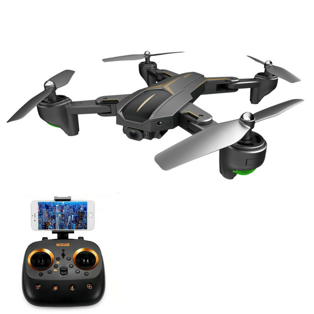 VISUO XS812 GPS 5G WiFi FPV w/ 5MP/4K HD Camera 15mins Flight Time Foldable RC Drone Quadcopter RTF