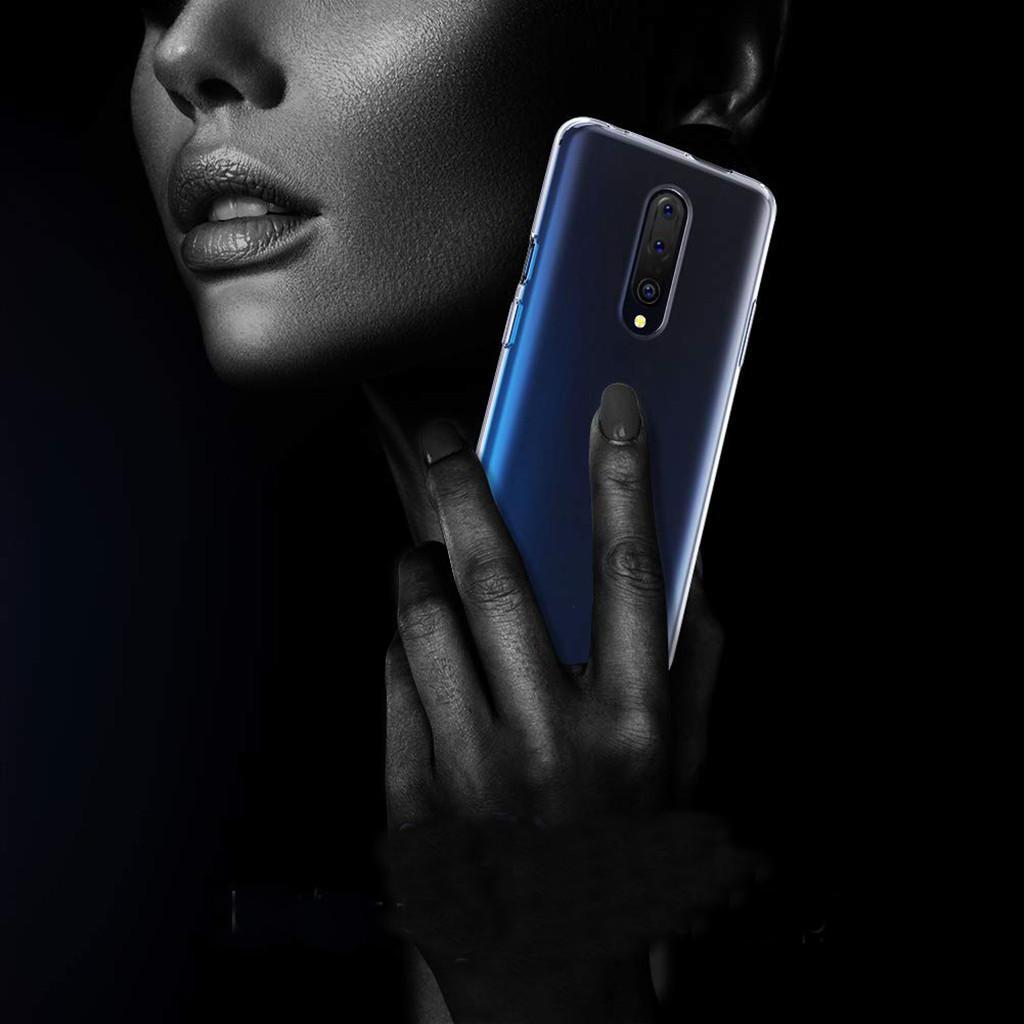 Ốp lưng trong suốt siêu mỏng Soft TPU của BAKEEY cho OnePlus 7 Pro / 1 + 7 Pro