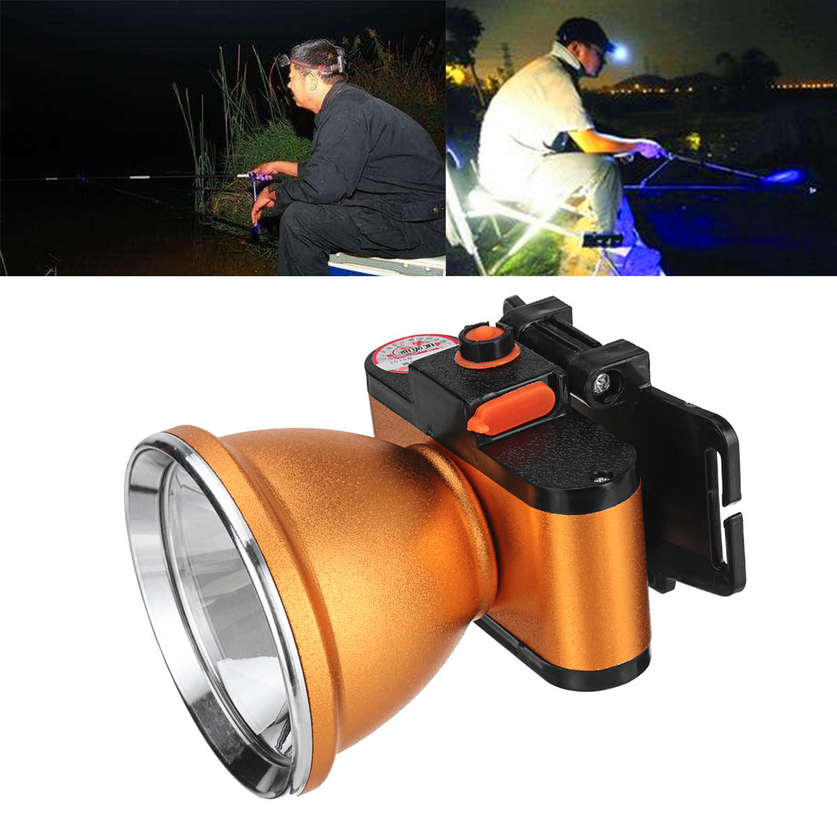 BIKIGHT 35/50/60W T6 Mini LED High Brightness Fishing Headlamp IPX4 Waterproof Flashlight Torch Lamp фото