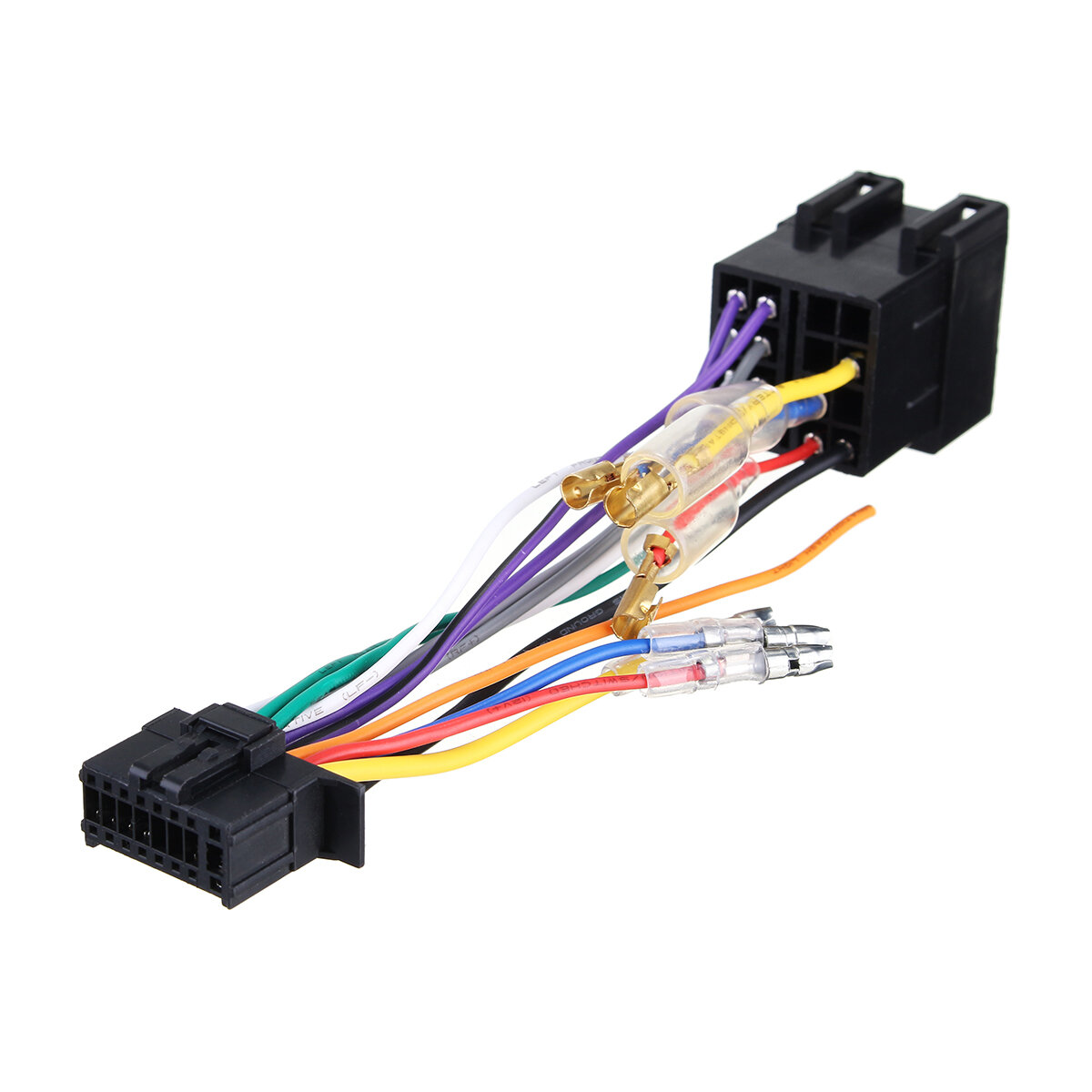 16Pin Car Stereo Radio Wiring Harness Connector Plug ISO PI100 for on