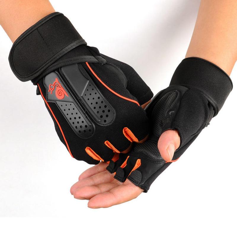 KALOAD 1 Pair Neoprene Weight Lifting Glove Anti-slip Half Fingers Gloves Fitness Exercise Training Sports Gloves