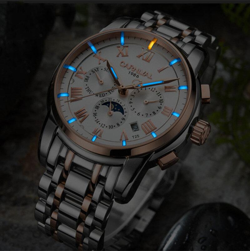 Đồng hồ đeo tay nam CHĂM SÓC C8799 dạ quang tự động