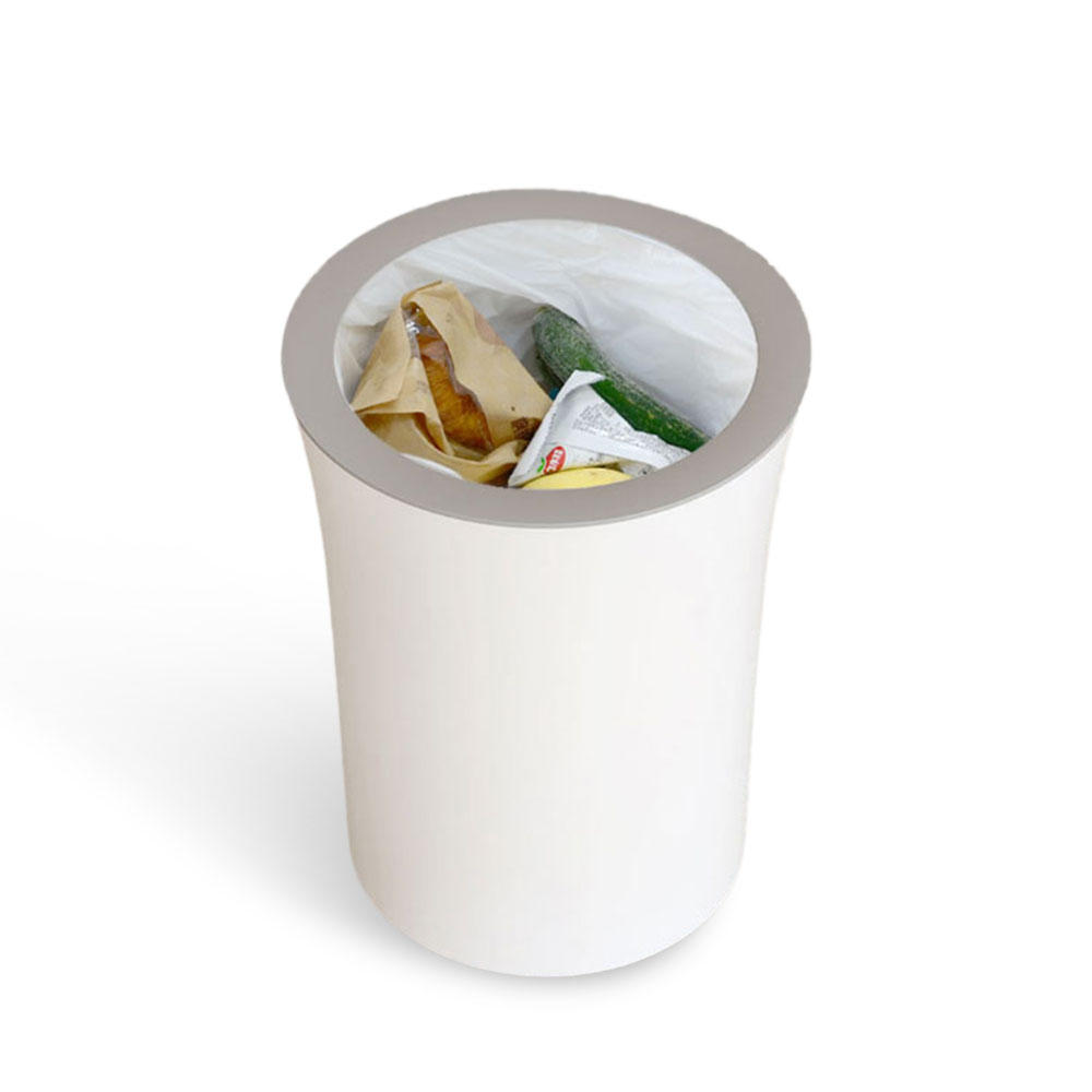 QUANGE QJ010301 10L Storage Trash Can Non-Slip Living Room  Kitchen Storage Trash Can From Xiaomi Youpin