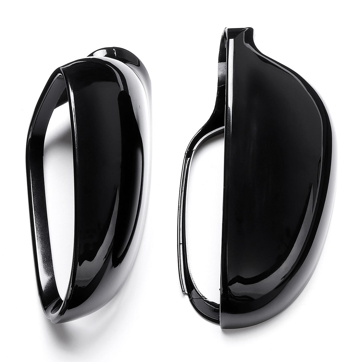 Front Wing Side Car Mirror Cover Housing Black Cap For Jetta VW Golf MK5 Eos