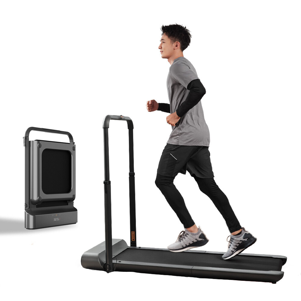 WalkingPad R1 Pro Treadmill Manual / Automatic Modes Folding Walking Pad Non-slip ...