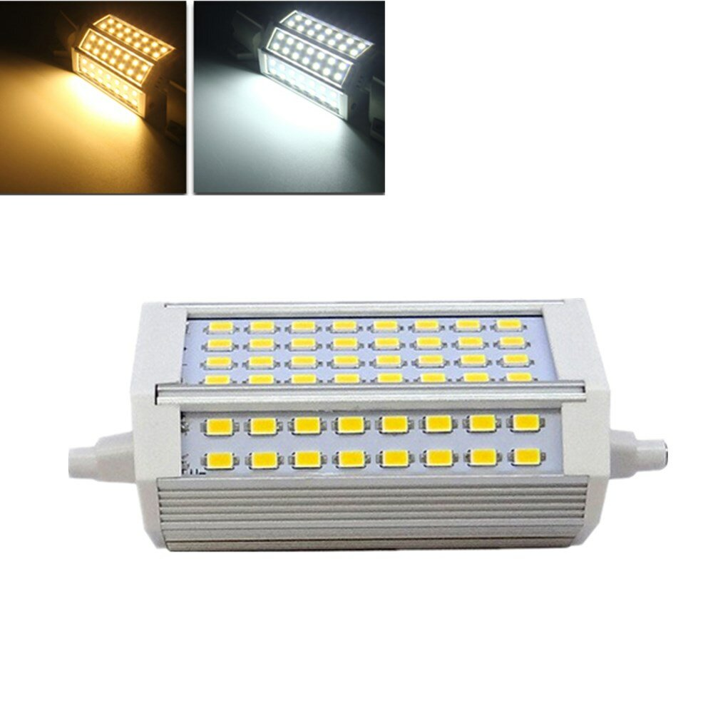 r7s dimmable 30w 3000lm 118mm 64 smd 5730 blanc chaud. Black Bedroom Furniture Sets. Home Design Ideas