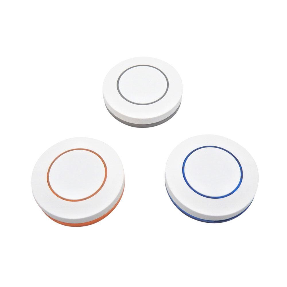 KTNNKG 3 В 433 МГц беспроводной пульт дистанционного управления 1 кнопка круглый пульт дистанционного управления переклю