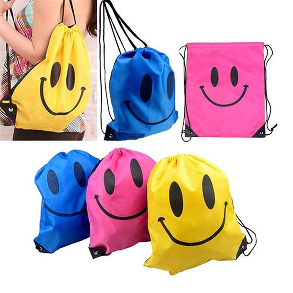 Children Drawstring Bag Boys Girls Mochila Swimming Waterproof Bags Kids School Backpack фото
