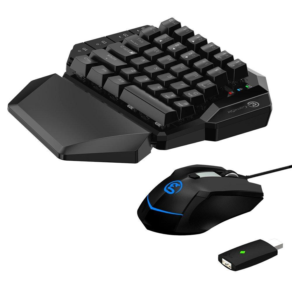 Gamesir VX AimSwitch Teclado ratón Gamepad Convertidor de una mano Mecánico Teclado para PS4/PS3 / Xbox One/Nintendo Switch / PC