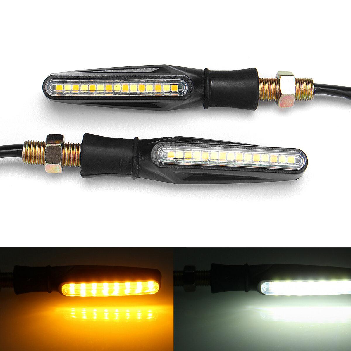 Universal Motorcycle Headlight Led Turn Signal Indicators