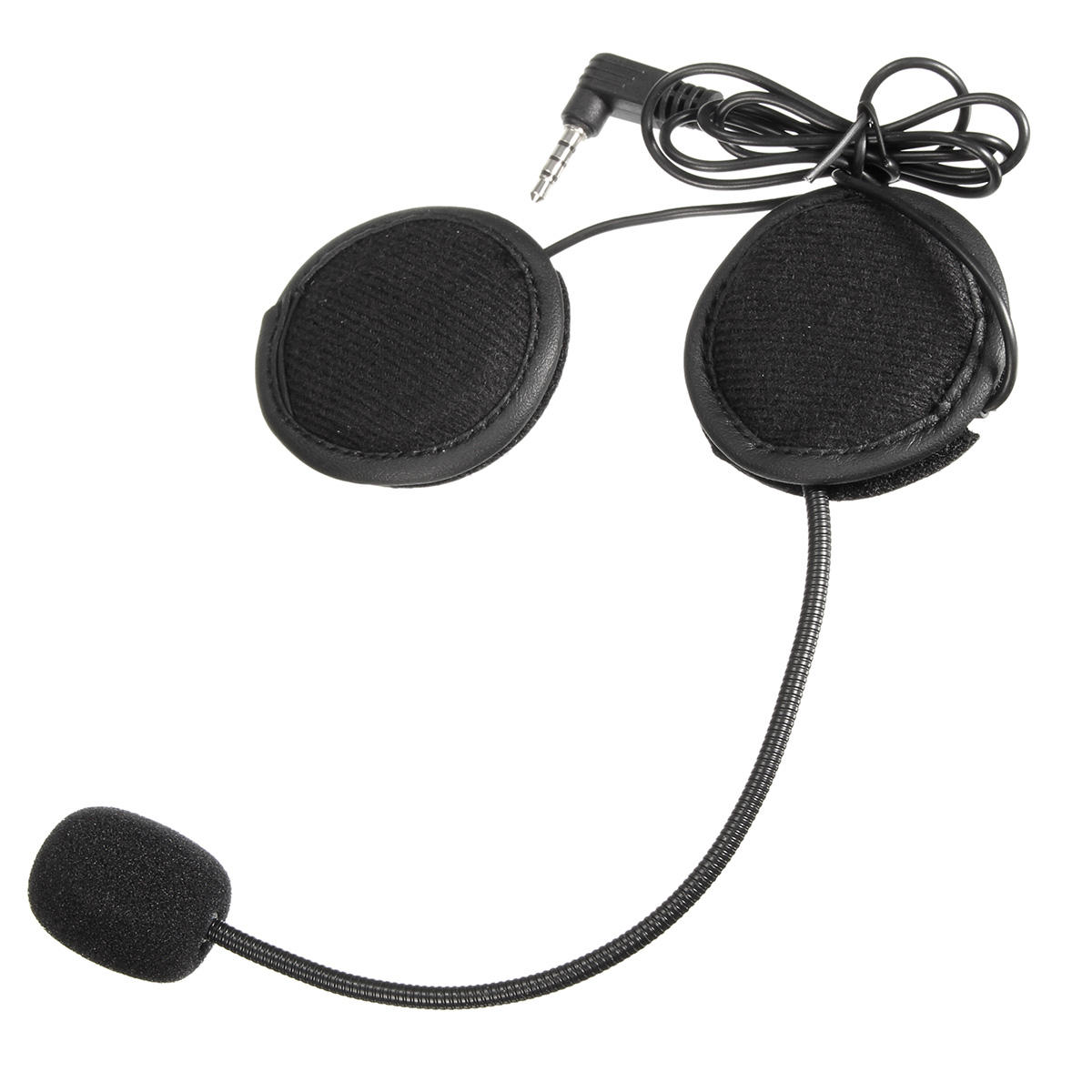Motorcycle Helmet Headset,Portable Compact Stereo USB Motorcycle Bluetooth Headphone,Communication Helmet Earphone with Bass HD Speakers,Noise Cancelling