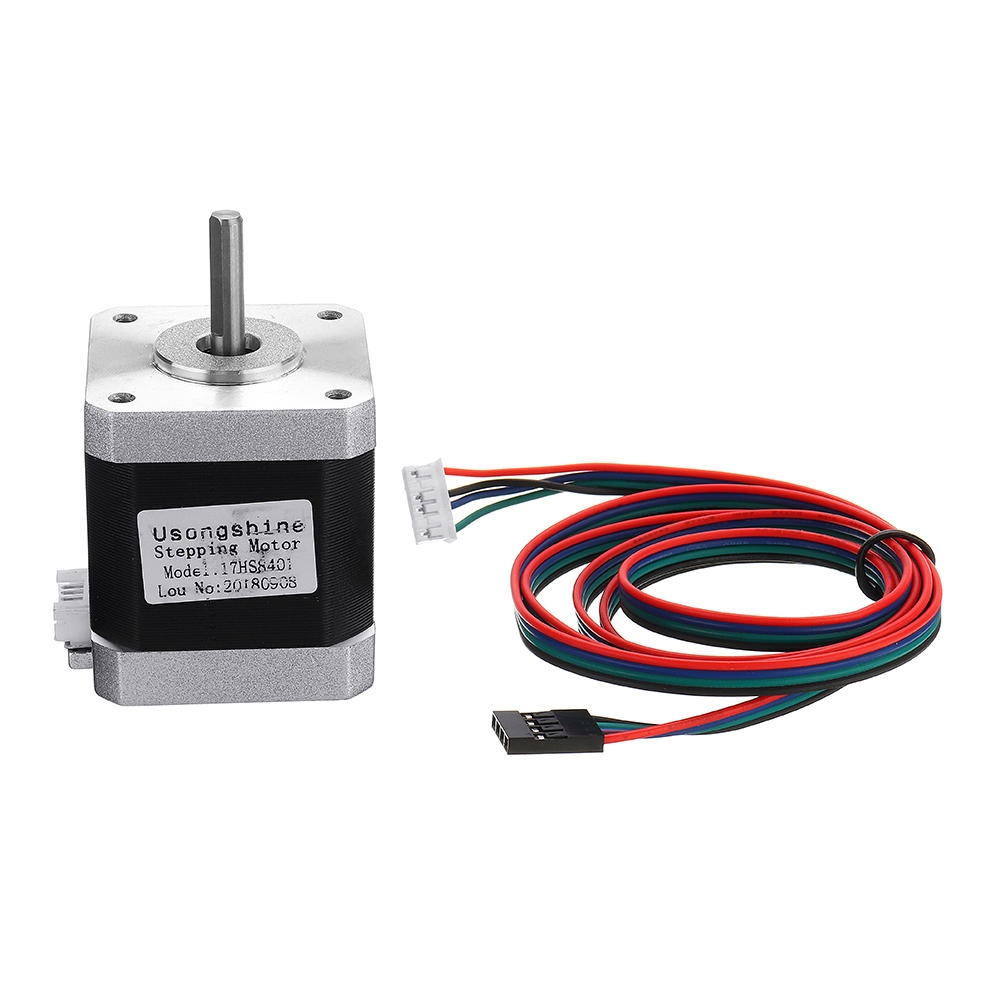 17HS8401 4-lead Nema17 Stepper Motor With 1M DuPont Cable For 3D Printer Part