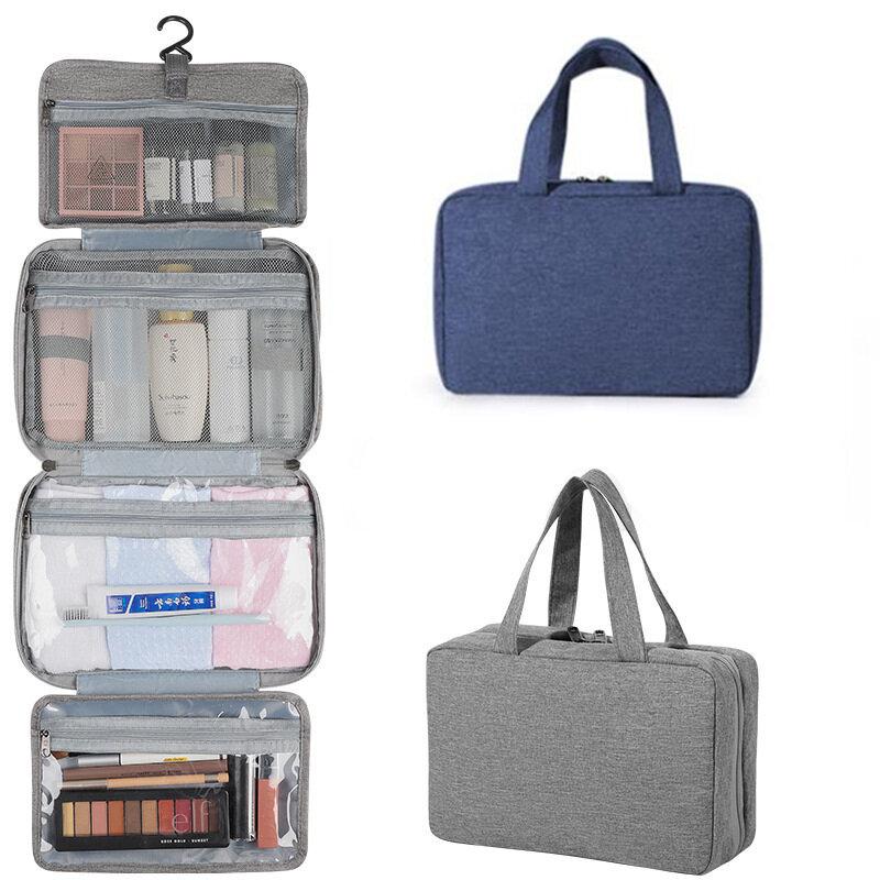 IPRee® Makeup Bag Waterproof Folding Toiletry Bags Hanging Cosmetic Bag Shower Organizer Outdoor Camping Travel