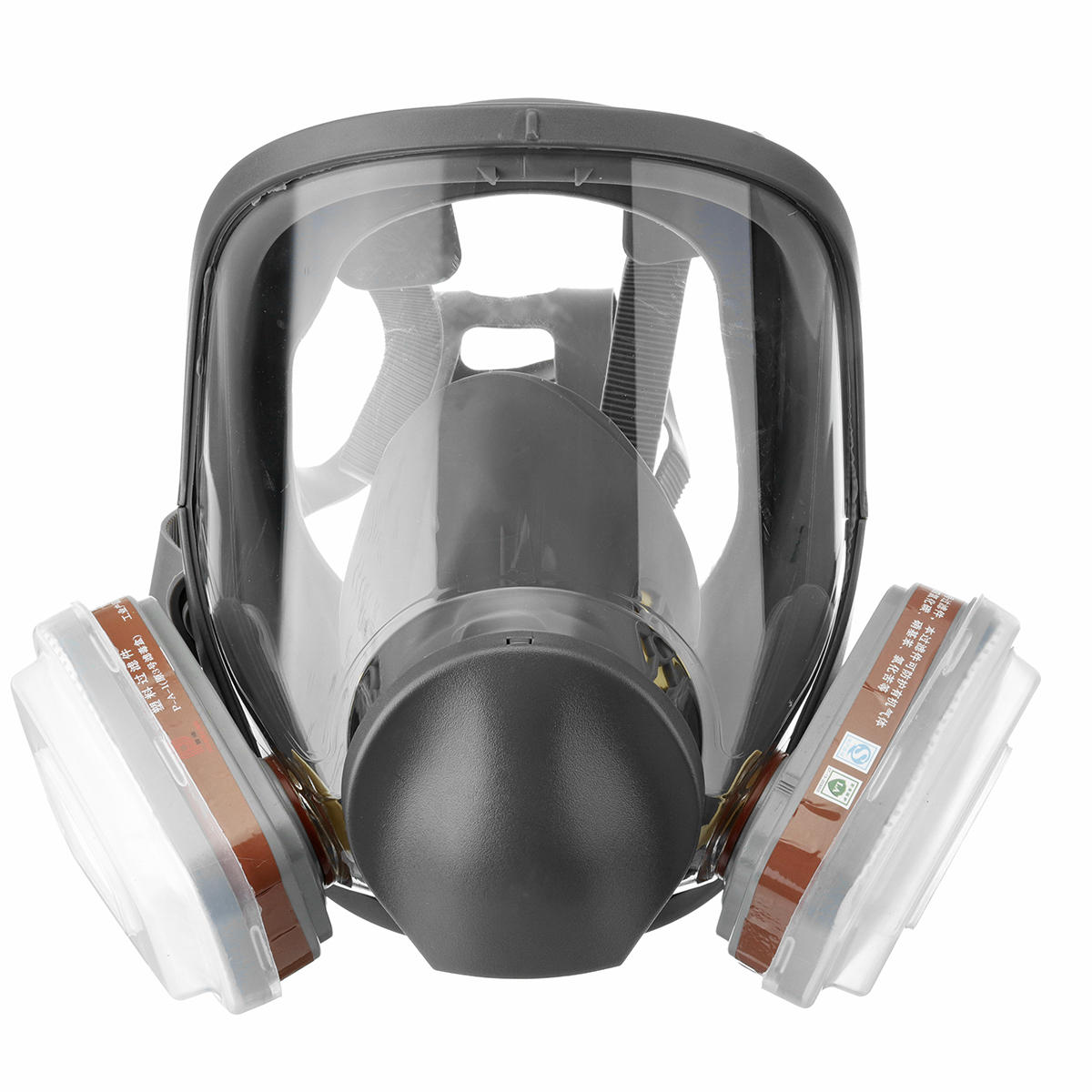 7 in 1 Automatic Full Face Gas Mask Anti-fog 6800
