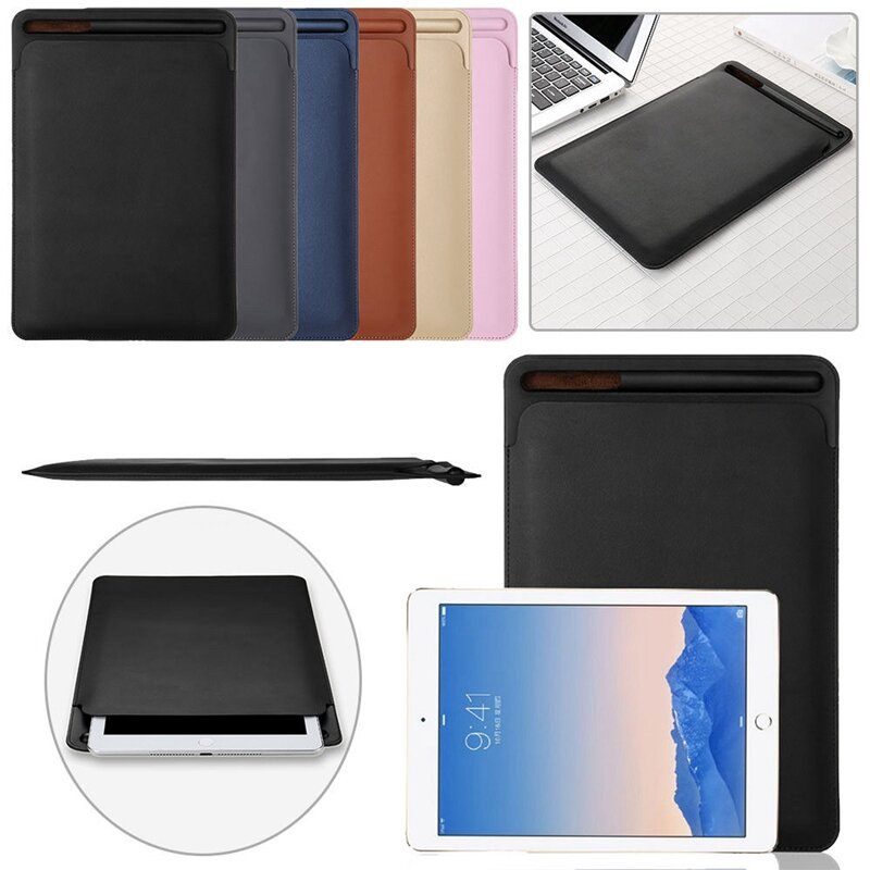 differently 8b68c a2f89 Faux Leather Shockproof Bag Case For iPad Pro 10.5