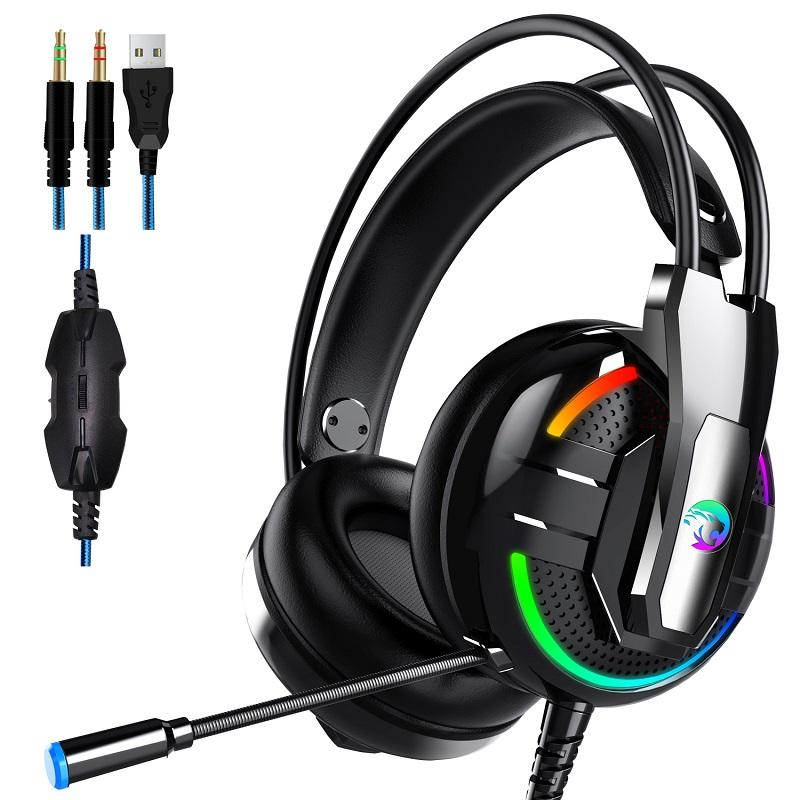 A18 E Sport Headphone 3 5mm Earphone Stereo Hifi Gaming Headset With Mic For Pc Us 32 99