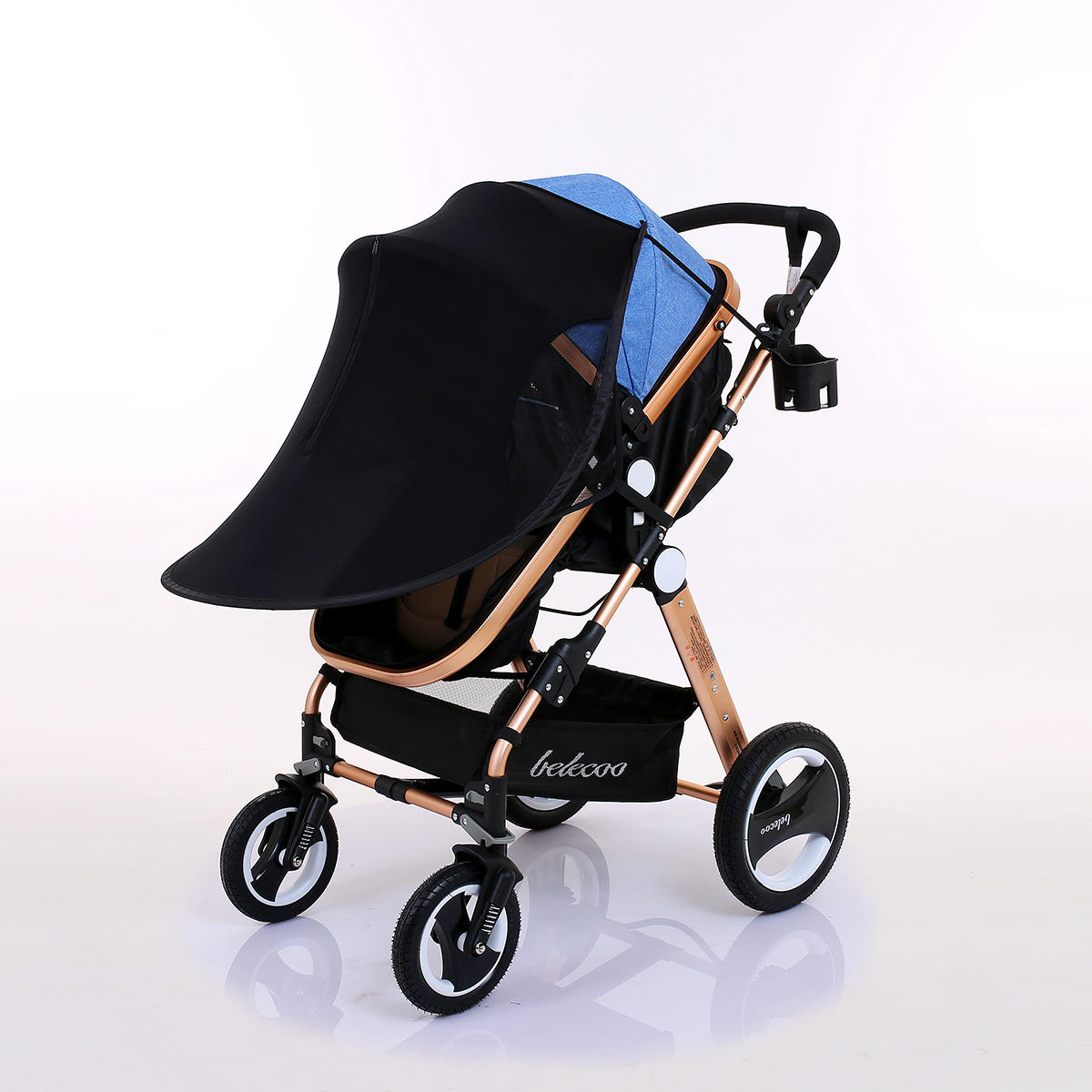 f84ef2698830 Baby Stroller Sunshade Canopy Cover For Prams Universal Car Seat Buggy  Pushchair Cap Sun Hood Stroller Accessories