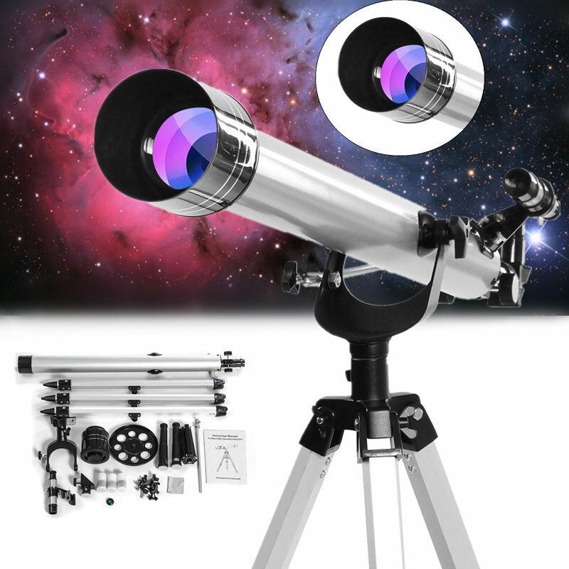 Telescopio de zoom refractivo astronómico de gran aumento 675x para la observación celestial del espacio