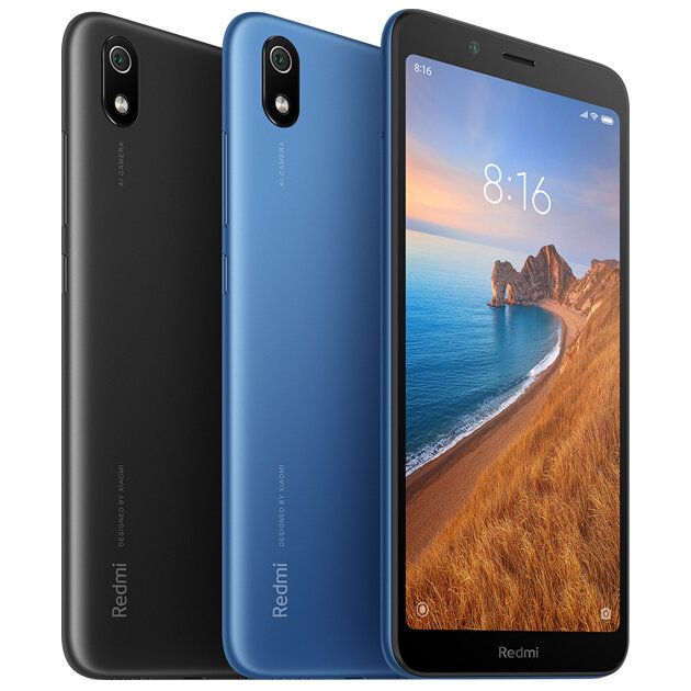 Xiaomi Redmi 7A Global 2GB di RAM 32GB di ROM - Nero