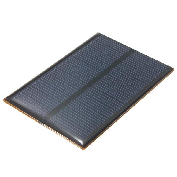5.5V 0.66W 120mA Monocrystalline Mini Solar Panel Photovoltaic Panel
