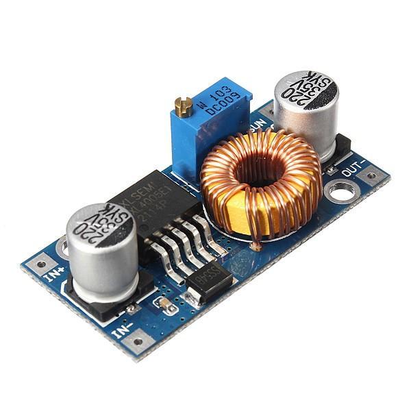 10Pcs Geekcreit® 5A XL4005 DC-DC Adjustable Step Down Module Power Supply Converter