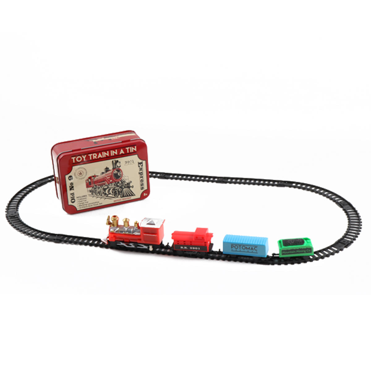 Train Set Track Toys Collection Gift