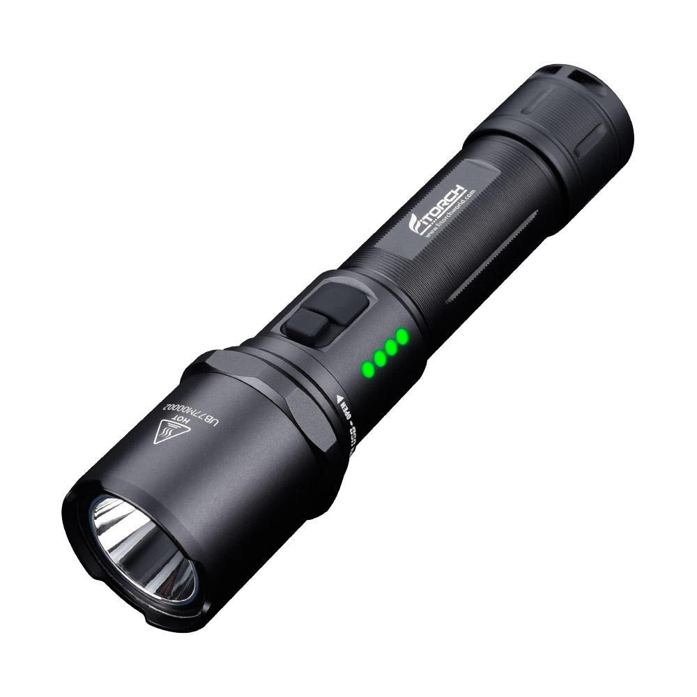 FitorchmR15XP-LHD1200LM5Modes Dual Switch USB аккумуляторная индикация питания LED Фонарик фото