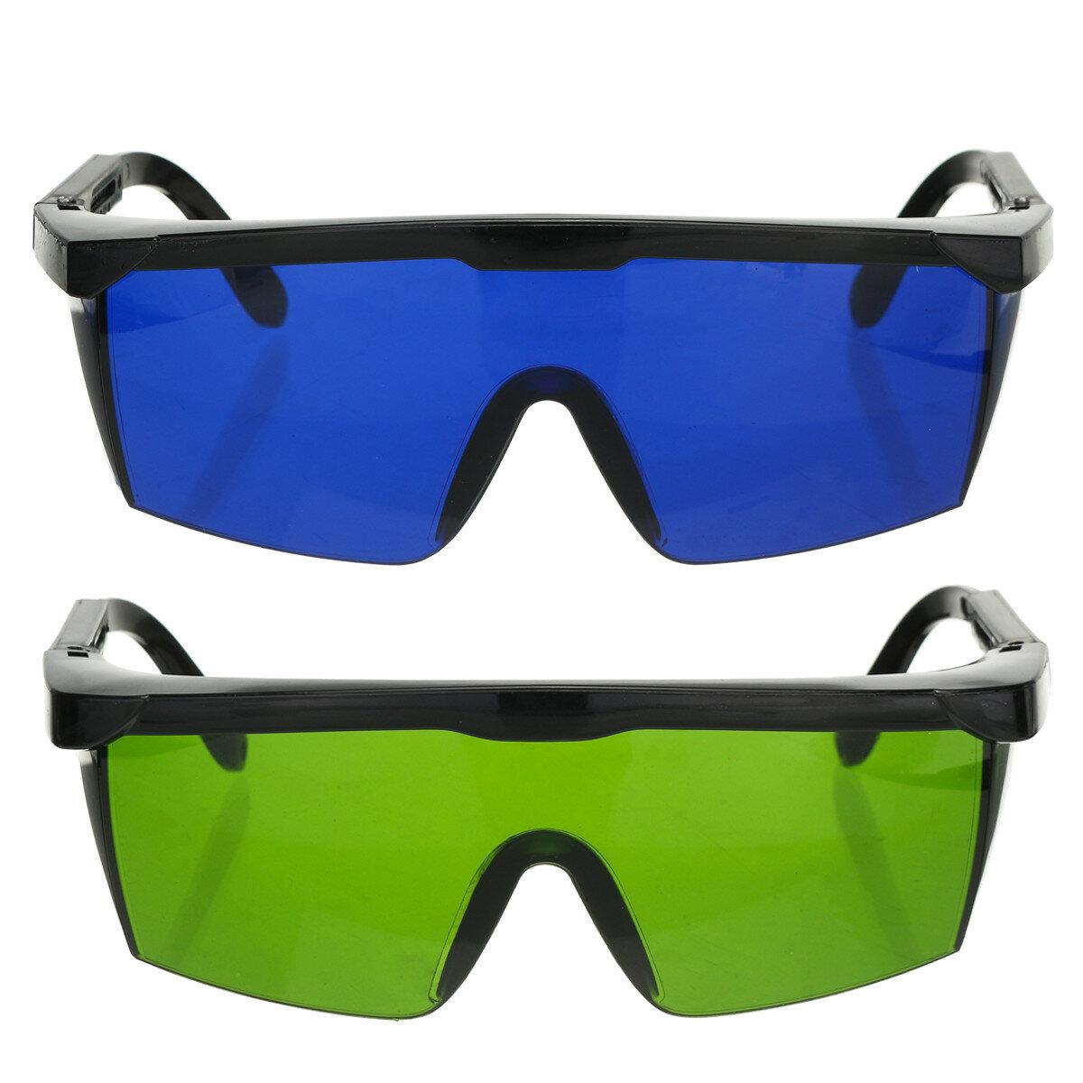 Pro लेजर Protection काले चश्मे Protective सुरक्षा चश्मा IPL OD + 4D 190nm-2000nm लेजर चश्मे