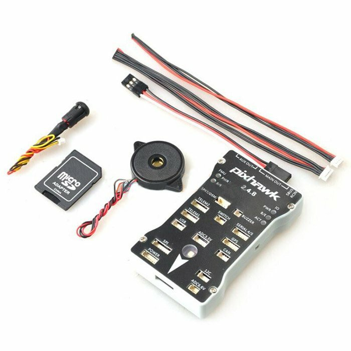 Pixhawk PX4 2 4 8 Flight Controller 32 Bit ARM PX4FMU PX4IO Combo for RC  Drone FPV Racing