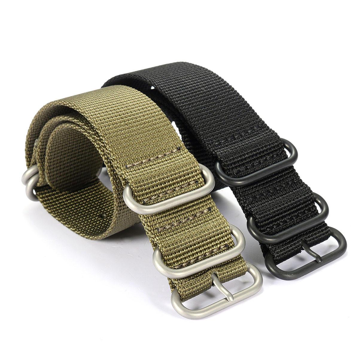 Luxury Nylon Orologio da polso con cinturino di ricambio Banda per Garmin Fenix 3 Orologio sportivo