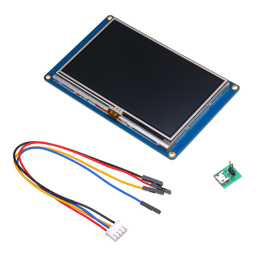 Nextion NX4827T043 4.3 Inch HMI Intelligent Smart USART UART Serial Touch TFT LCD Screen Module Display Panel For Raspberry Pi 2 A+ B+  Kits
