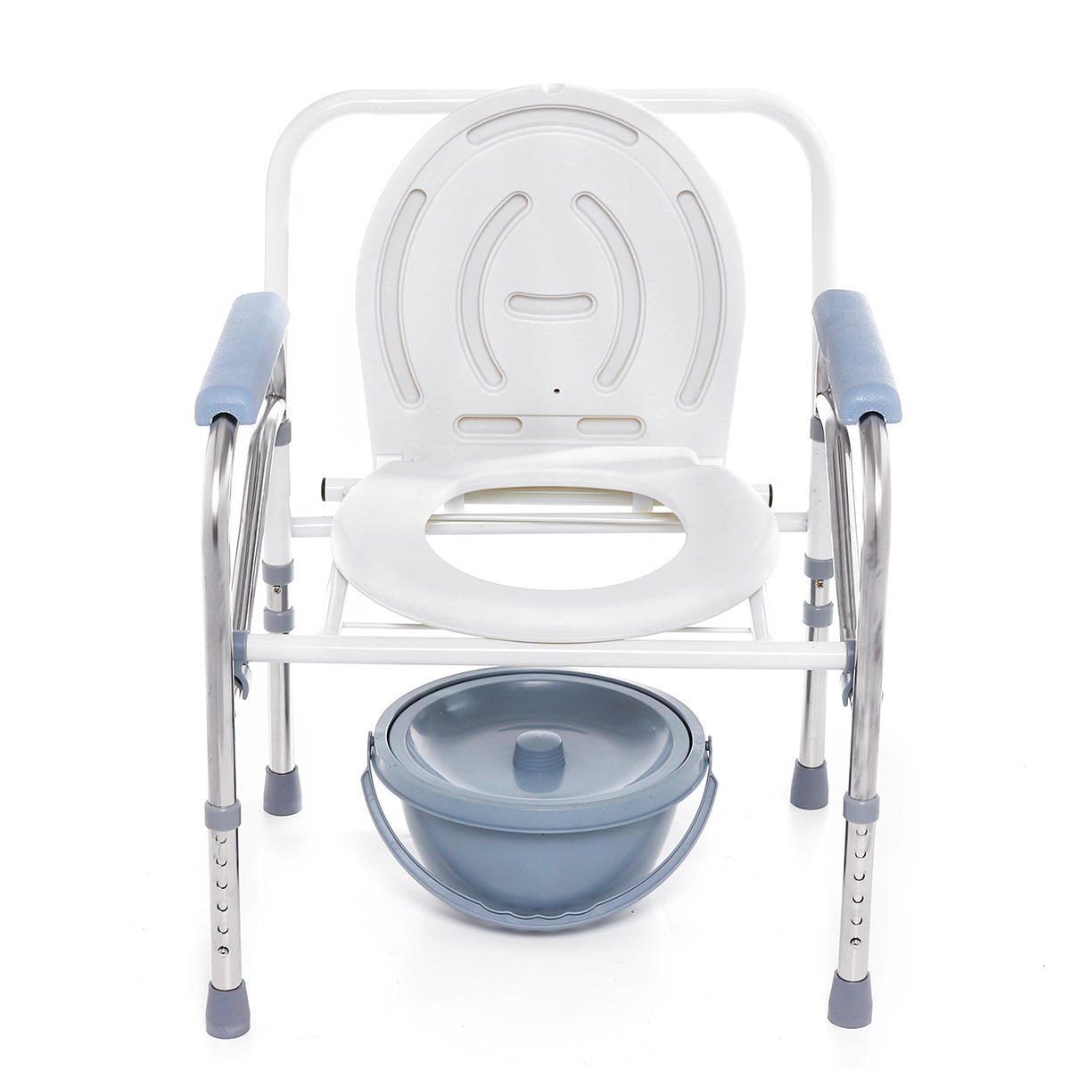 Tremendous Portable Foldable Potty Chair Toilet Adjustable Commode Chair Closestool Chamber Pot For Elderly Women Pabps2019 Chair Design Images Pabps2019Com