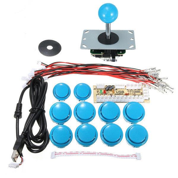 Nollfördröjning Arcade Game Controller USB Joystick Kit för MAME