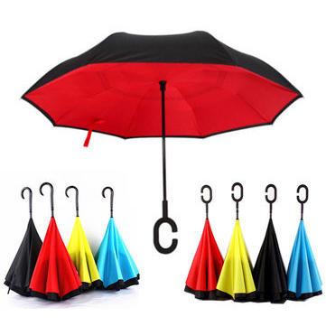 03d4cad2cb857 kcasa ub-1 creative reverse double layer umbrella folding inverted ...