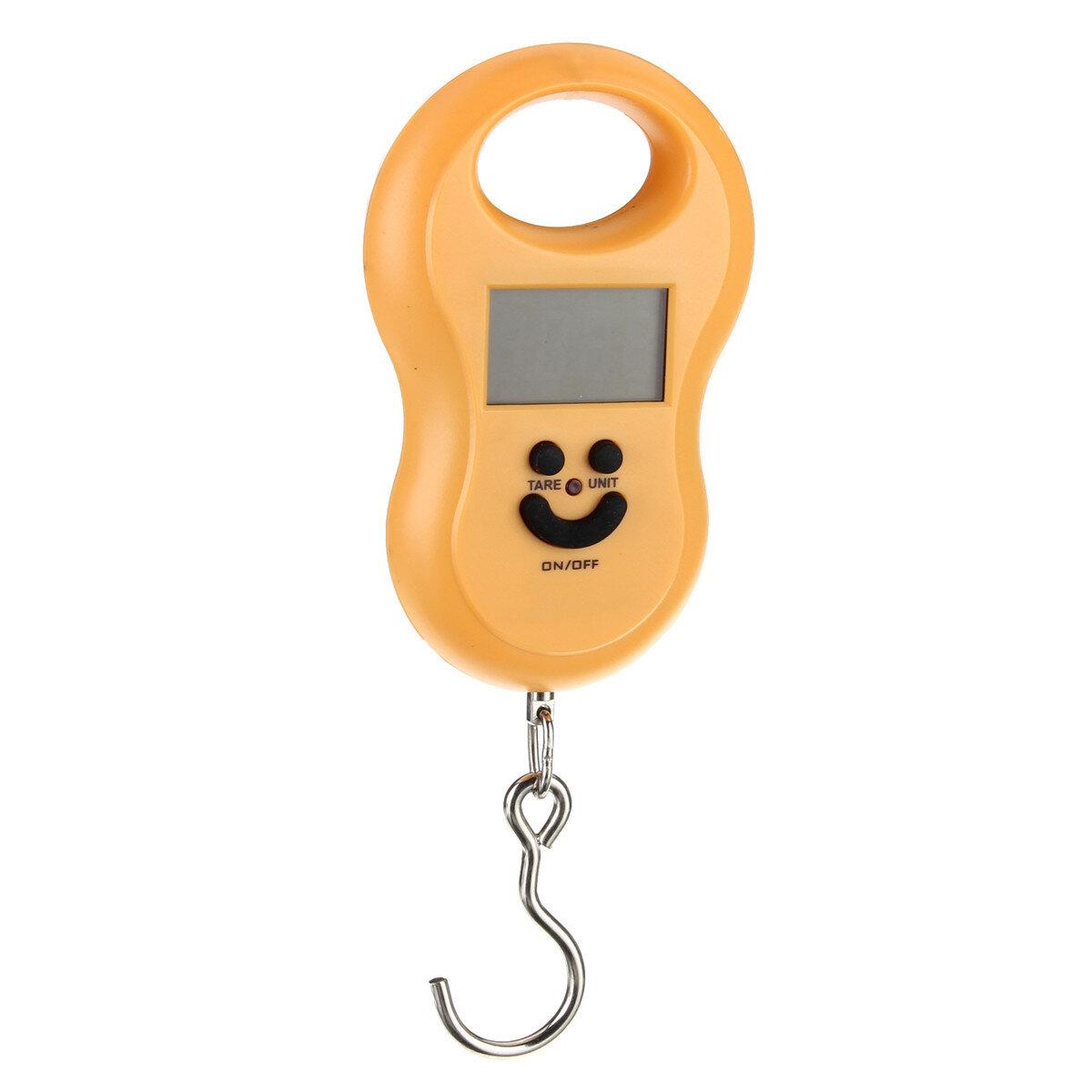50Kgx5g Asma Cep Telefonu Balıkçılık Ağırlık Valiz Tartı