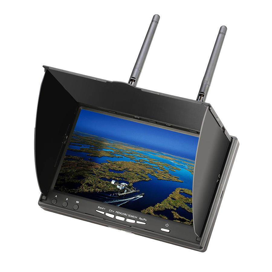 Eachine LCD5802D 5802 5.DVR  内蔵8G 40CH 7インチ FPVモニター