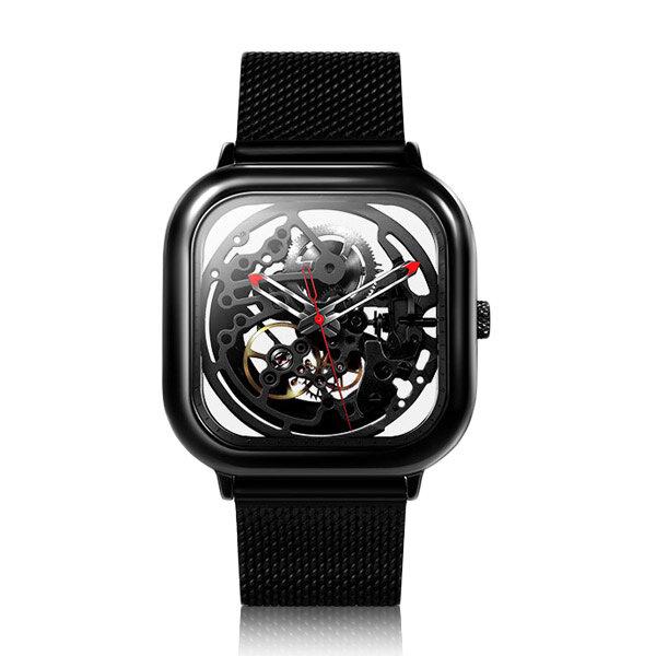 Đồng hồ đeo tay nam tự động Thiết kế CIGA chính hãng Full Hollow Đồng hồ đeo tay bằng thép không gỉ từ xiaomi youpin