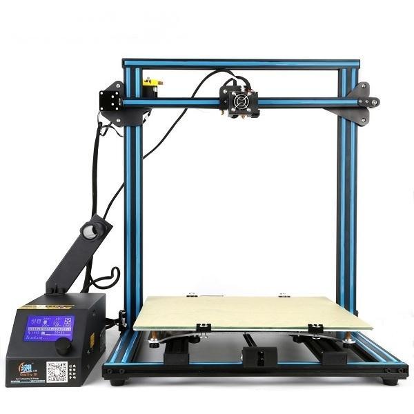 Creality 3D® CR-10S adapté aux besoins du client 500 * 500 * 500 taille d'impression kit d'imprimante de bricolage 3D avec Z-axe double T vis détecteur de filament de moteur 1.75mm 0.4mm buse