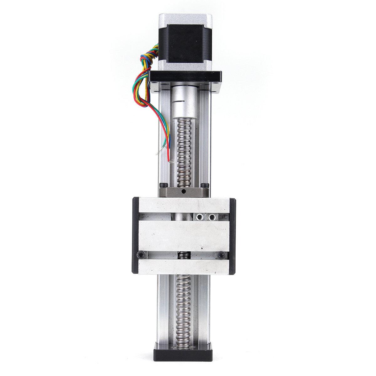 1204 Ball Screw Linear Slide Stroke Long Stage Actuator w// Stepper Motor 100mm R