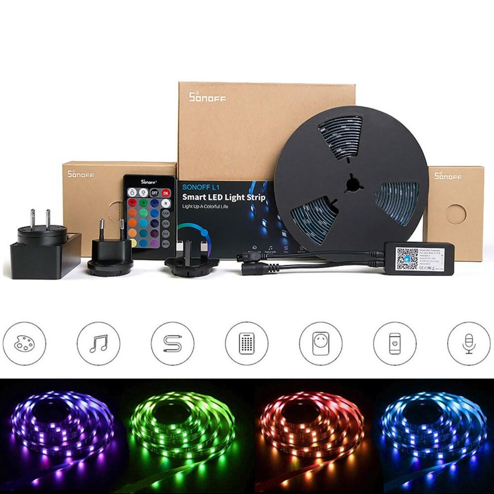 SONOFF L1 2M 5M Smart LED Light Strip Kit