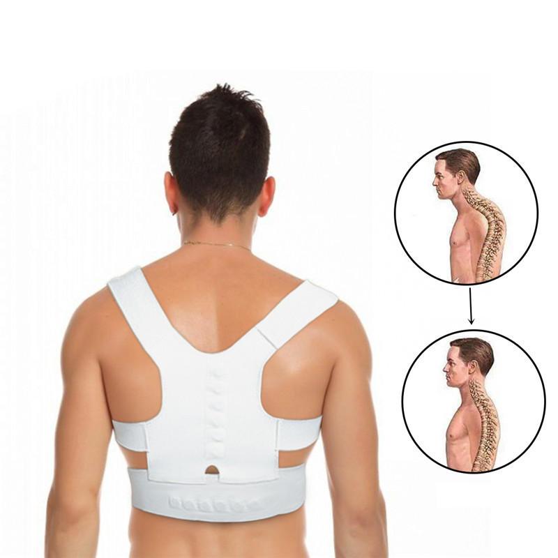 IPRee 1PC Back Straighten Belt Correct Posture Vest Health Corrective Tape Back Support Braces