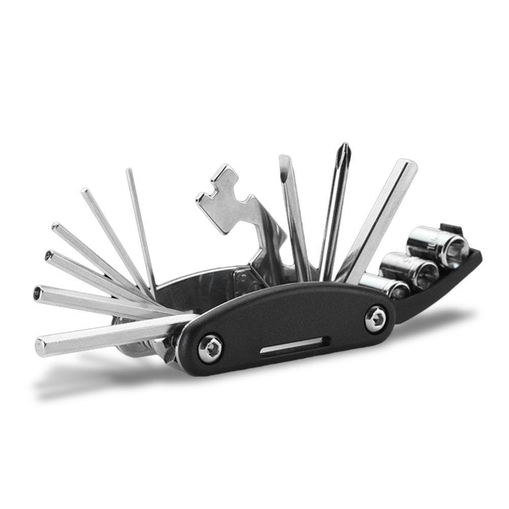 HUOHOU VK208 15 In 1 Multi-Function Hex Wrench Repair Bicycle Gadget Home Tools