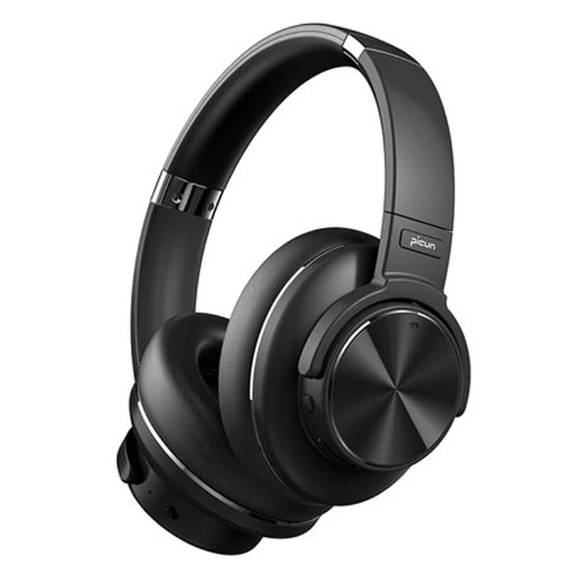 Picun ANC-02 bluetooth 5.0 Headphones Active Noise Cancelling Wireless Headset On-Ear&Over-Ear Headphones...