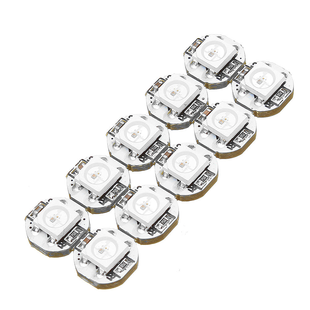 100Pcs Geekcreit® DC 5V 3MM x 10MM WS2812B SMD LED Board Built-in IC-WS2812