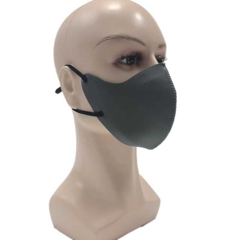 FFP3 Masker Wajah Anti Air Debu PM2.5 Bukti Anti Smog Adjustable Klip Hidung Filter Masker Mulut Perlindungan W / Filtrasi Pad