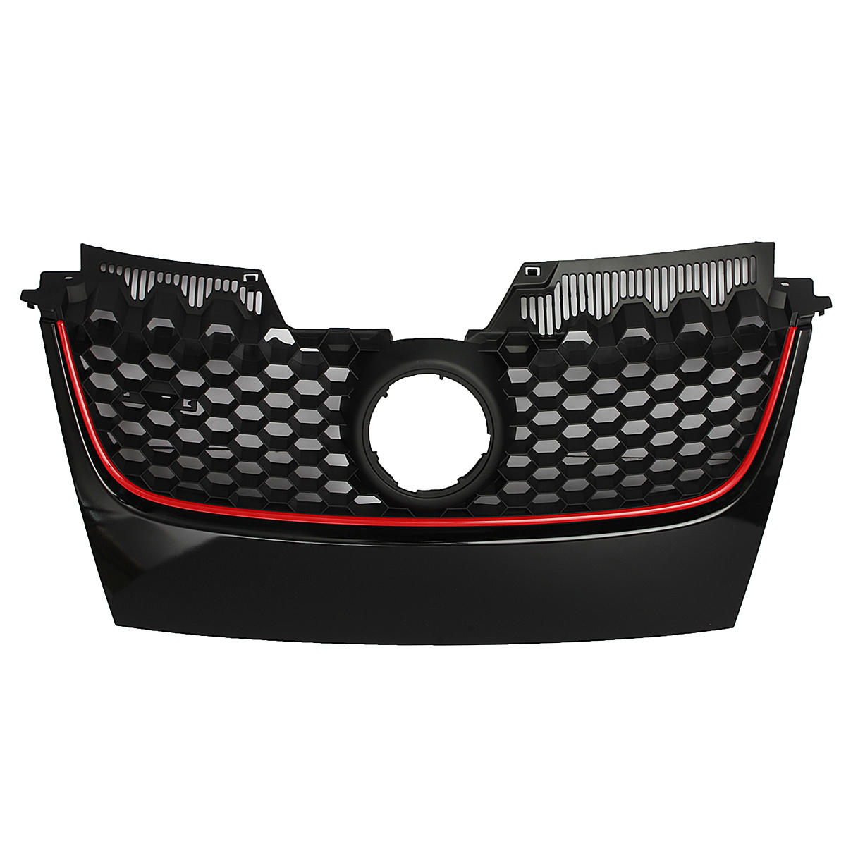 Front Center Grill För VW Jetta GTI GLI 06-09